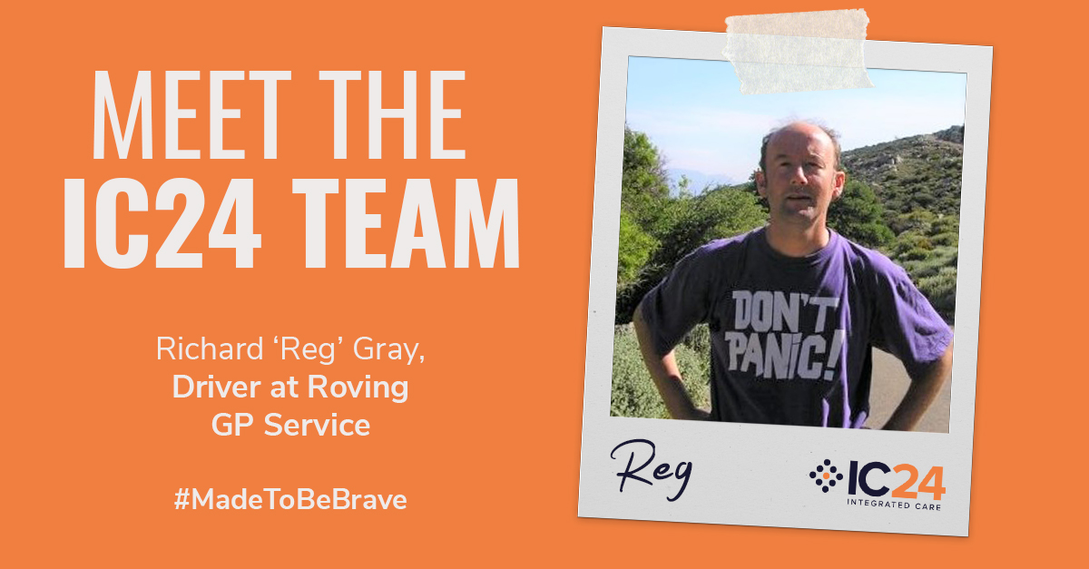 Meet the IC24 Team – Richard 'Reg' Gray - IC24